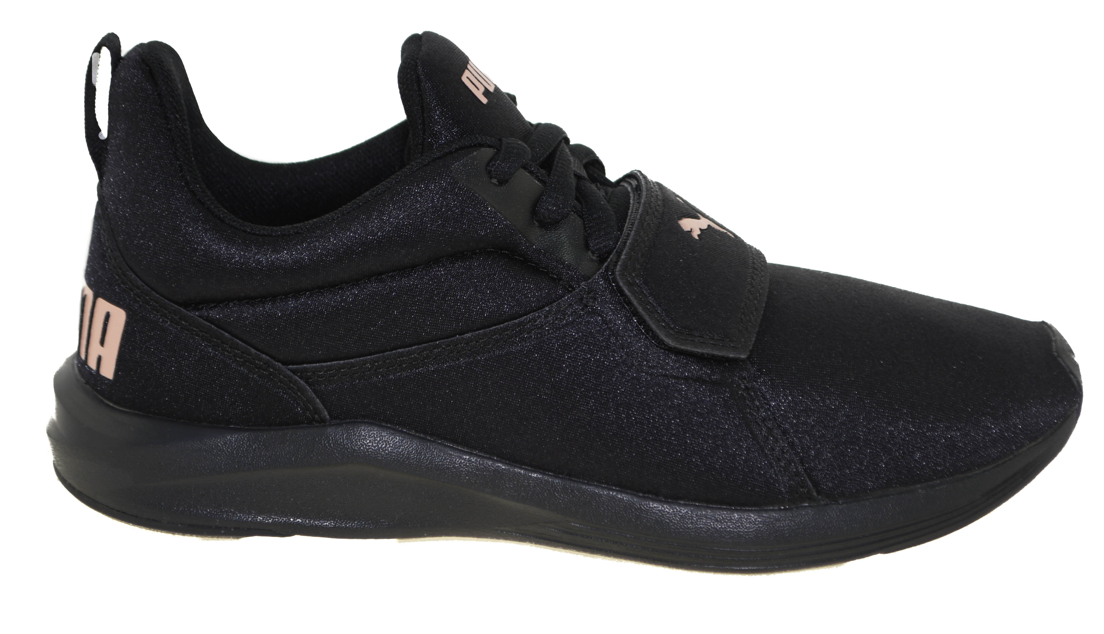 61fd5b49a5f82f Puma Women s Prodigy Running Shoes Black Gold Style 191525-01
