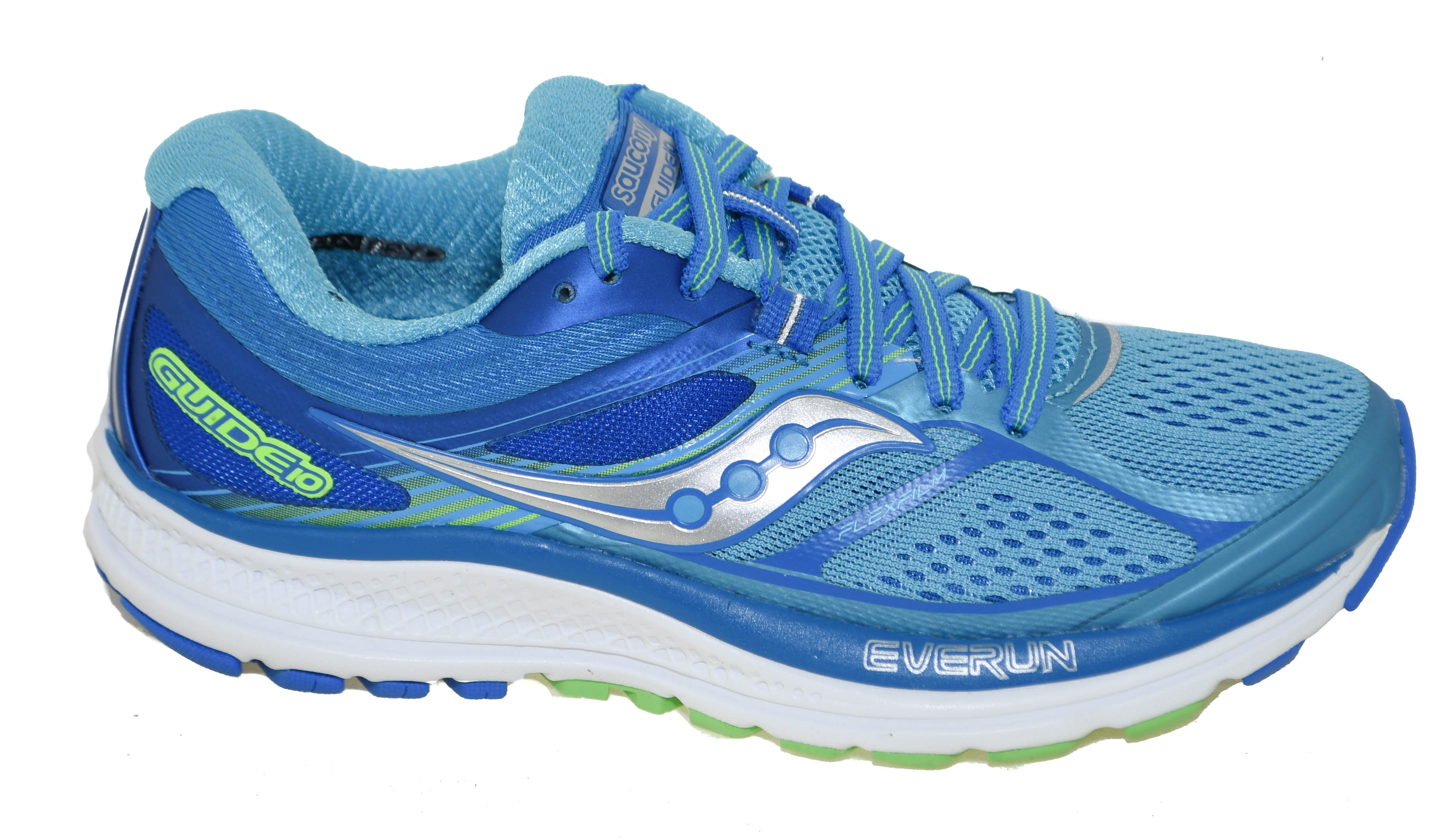 0797590c5bb6 Saucony Women s Guide 10 Running Shoes Light Blue Blue Style S10350 ...