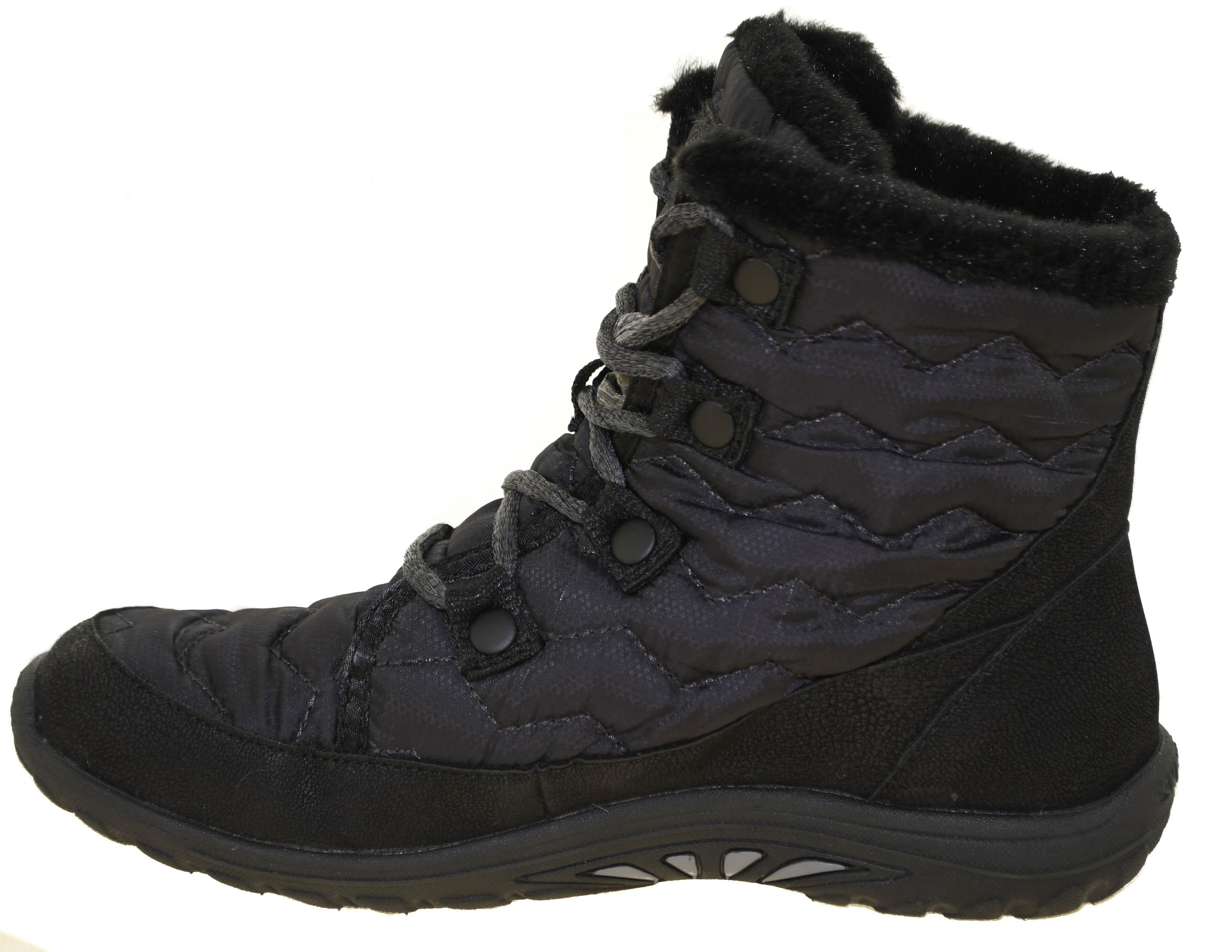 b7e1d9432e12 Skechers Women s Reggae Fest-Vector Ankle Bootie Style 49434 BLK
