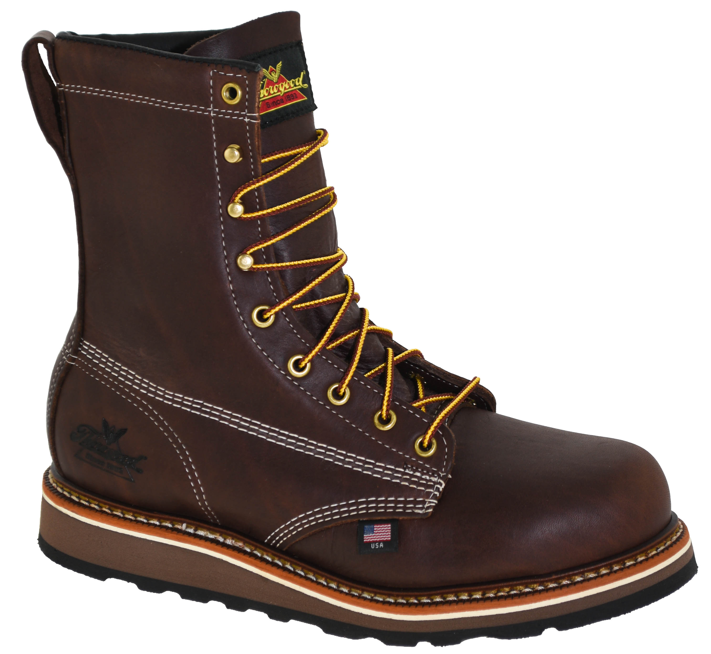 9ba05a90251 Details about Thorogood Men's American Heritage 8