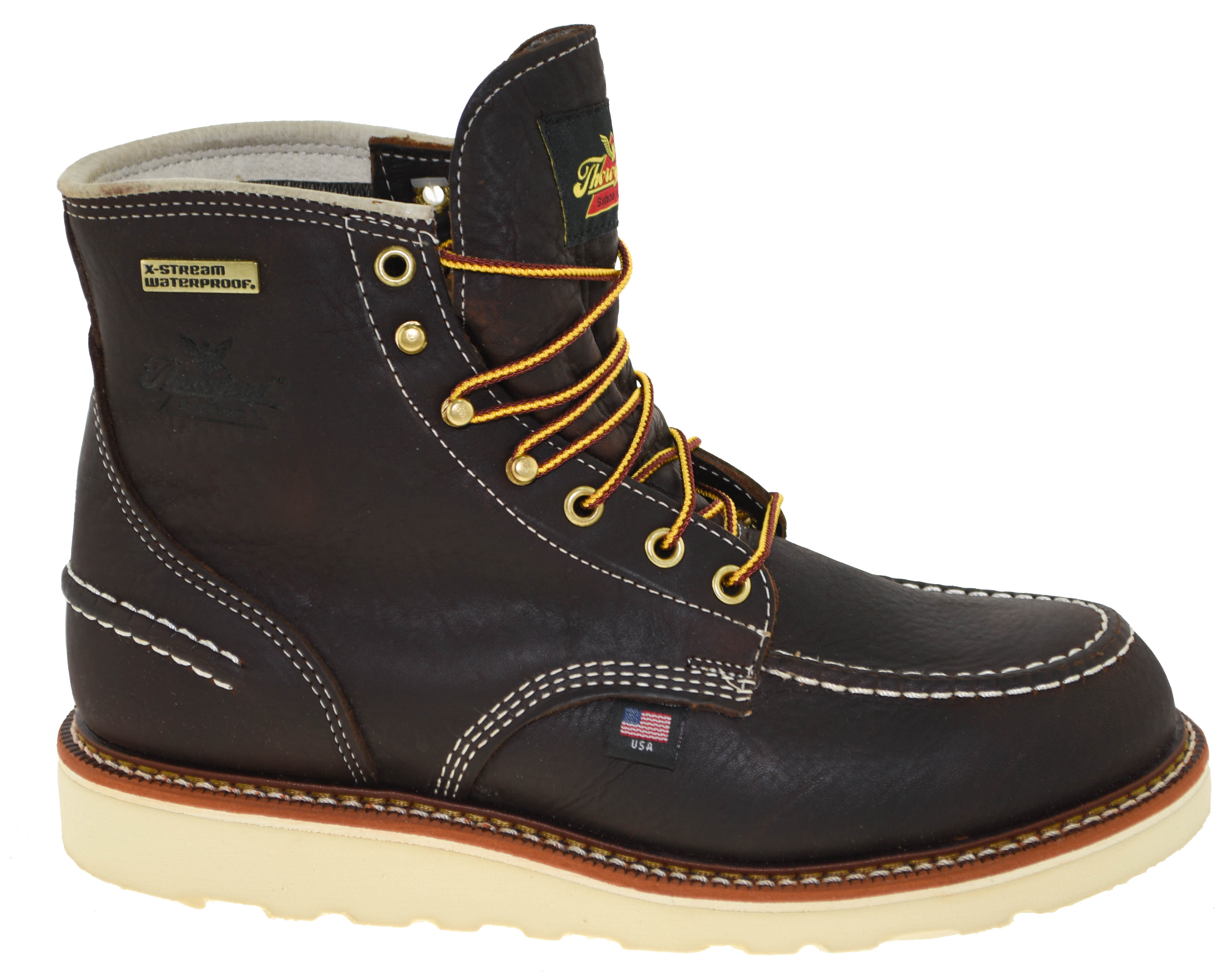 5bf2e42098f Details about Thorogood Men's Waterproof 1957 Moc Toe 6