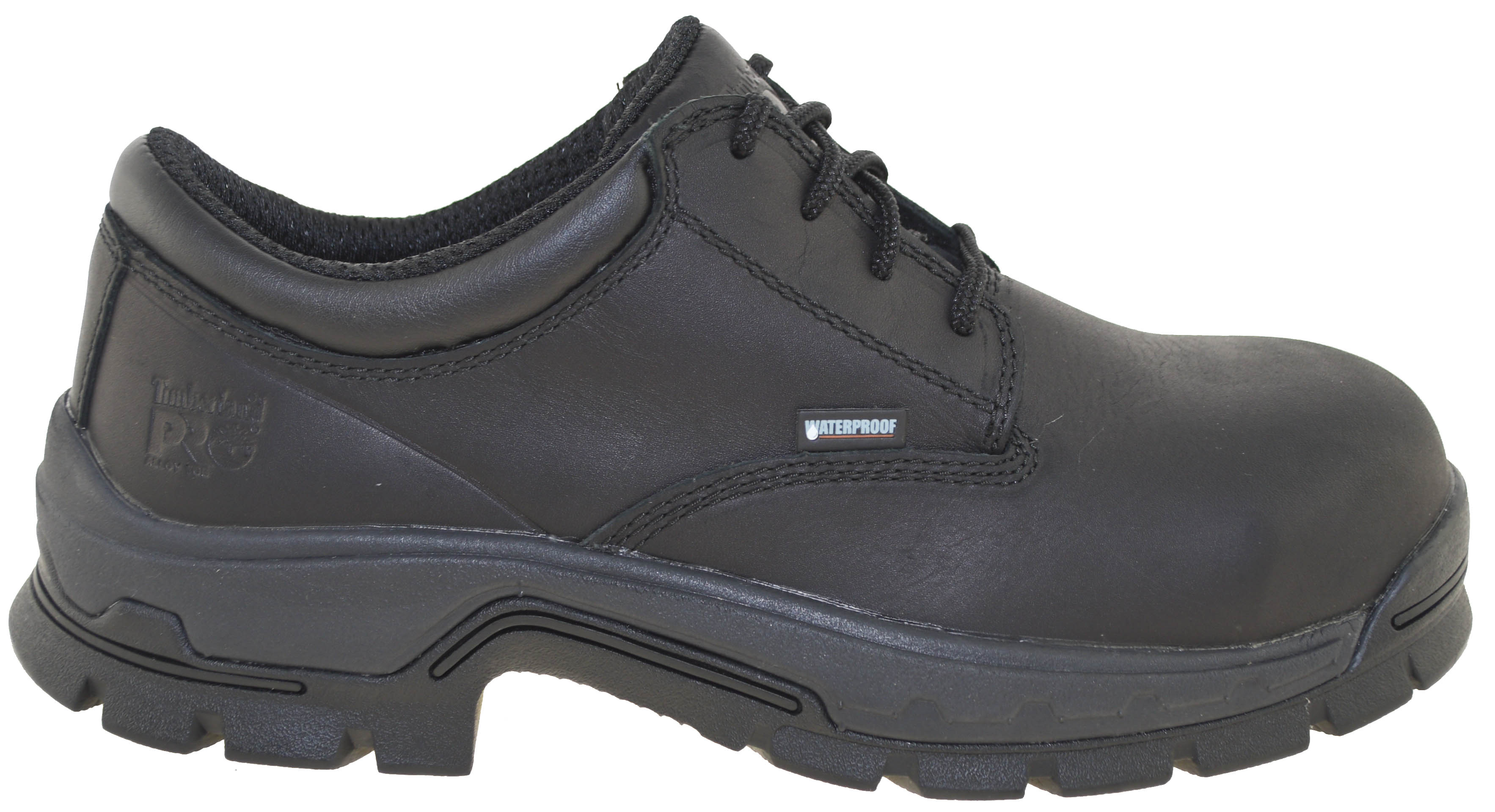 75b001b39a0 Details about Timberland Pro Men's Stockdale Alloy Safety Toe Waterproof  Oxford Black Style A1