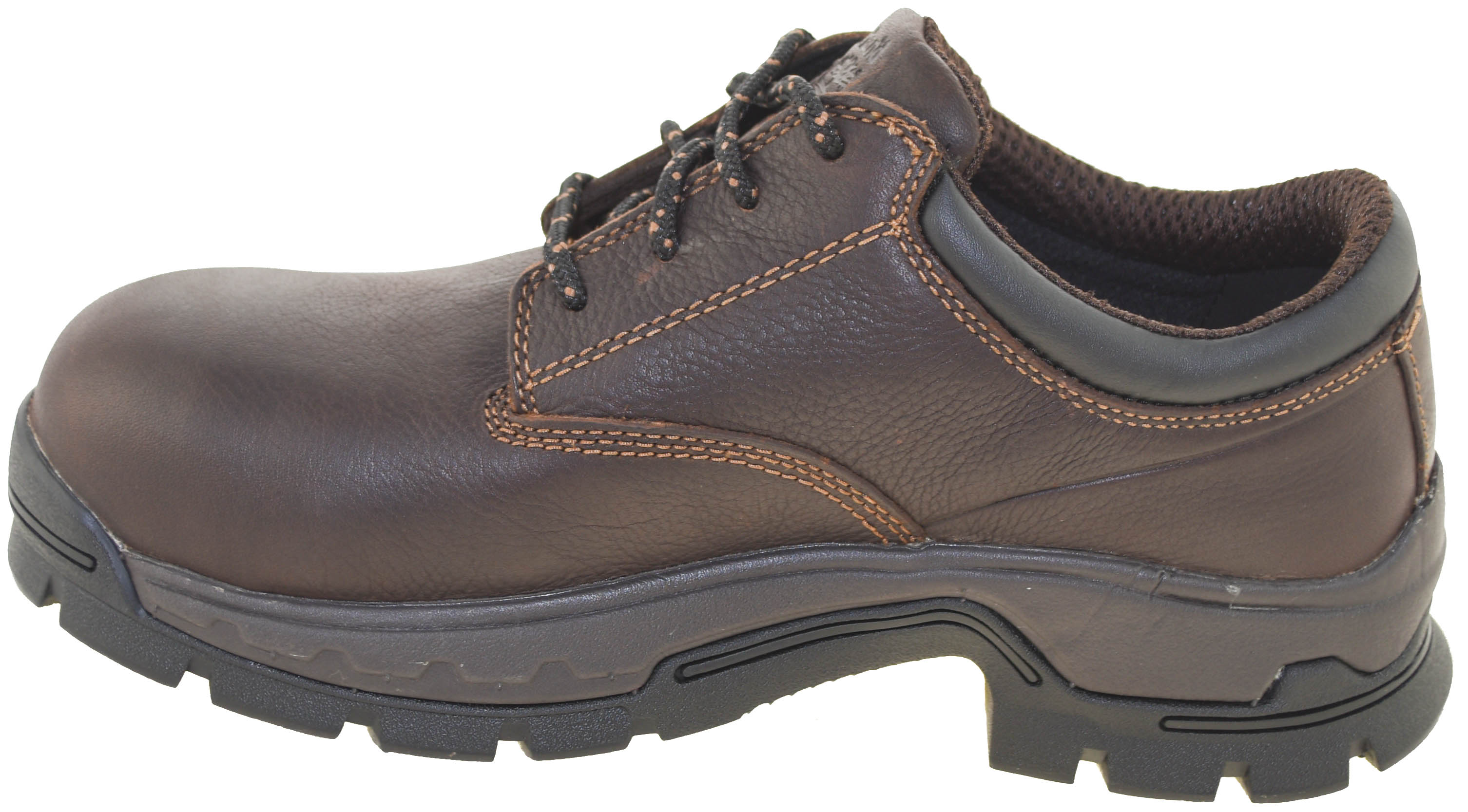 532461c1297 Details about Timberland Pro Men's Stockdale Alloy Safety Toe Waterproof  Oxford Brown Style A1