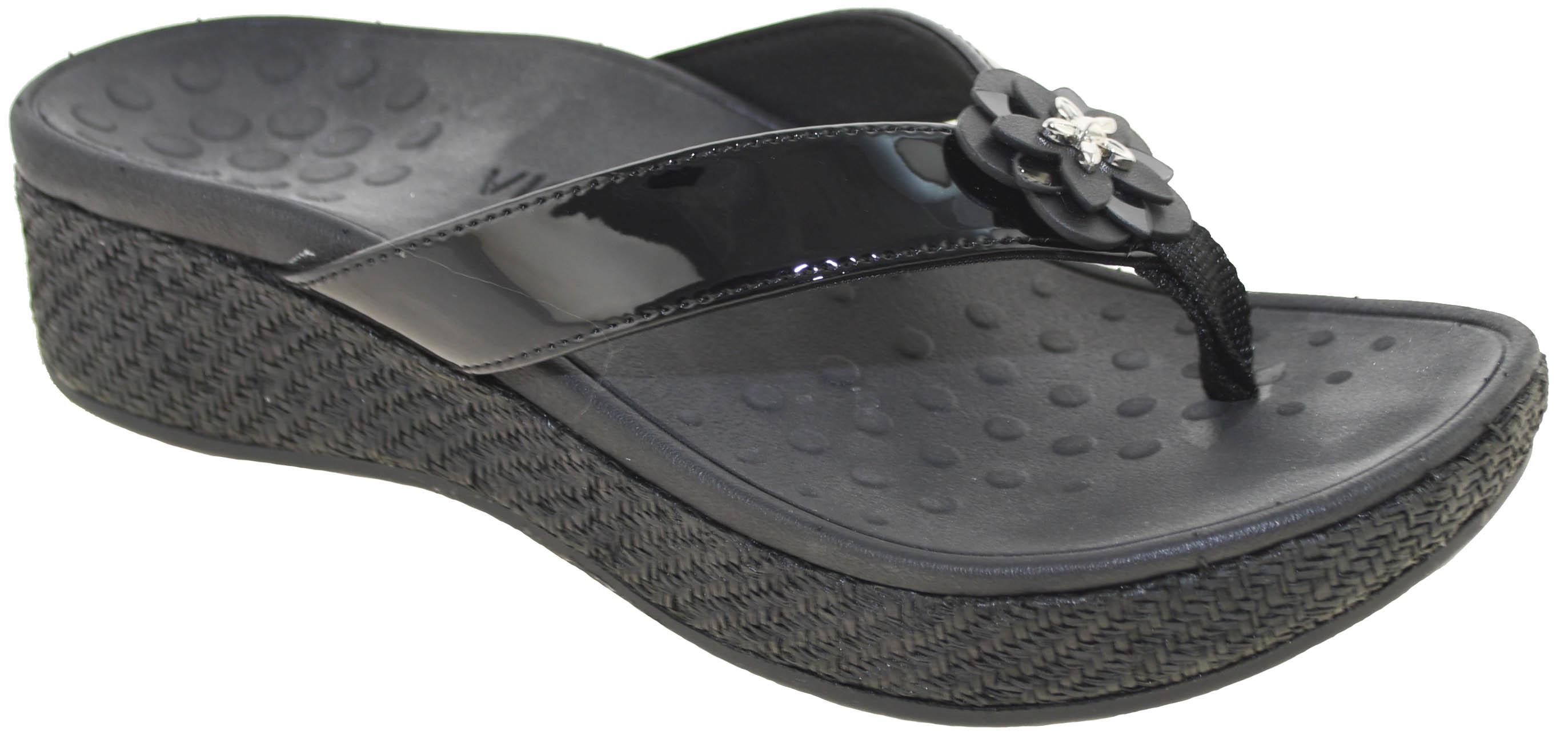007ff14d7d72 Vionic Women s Pacific Mimi Platform Sandal Black