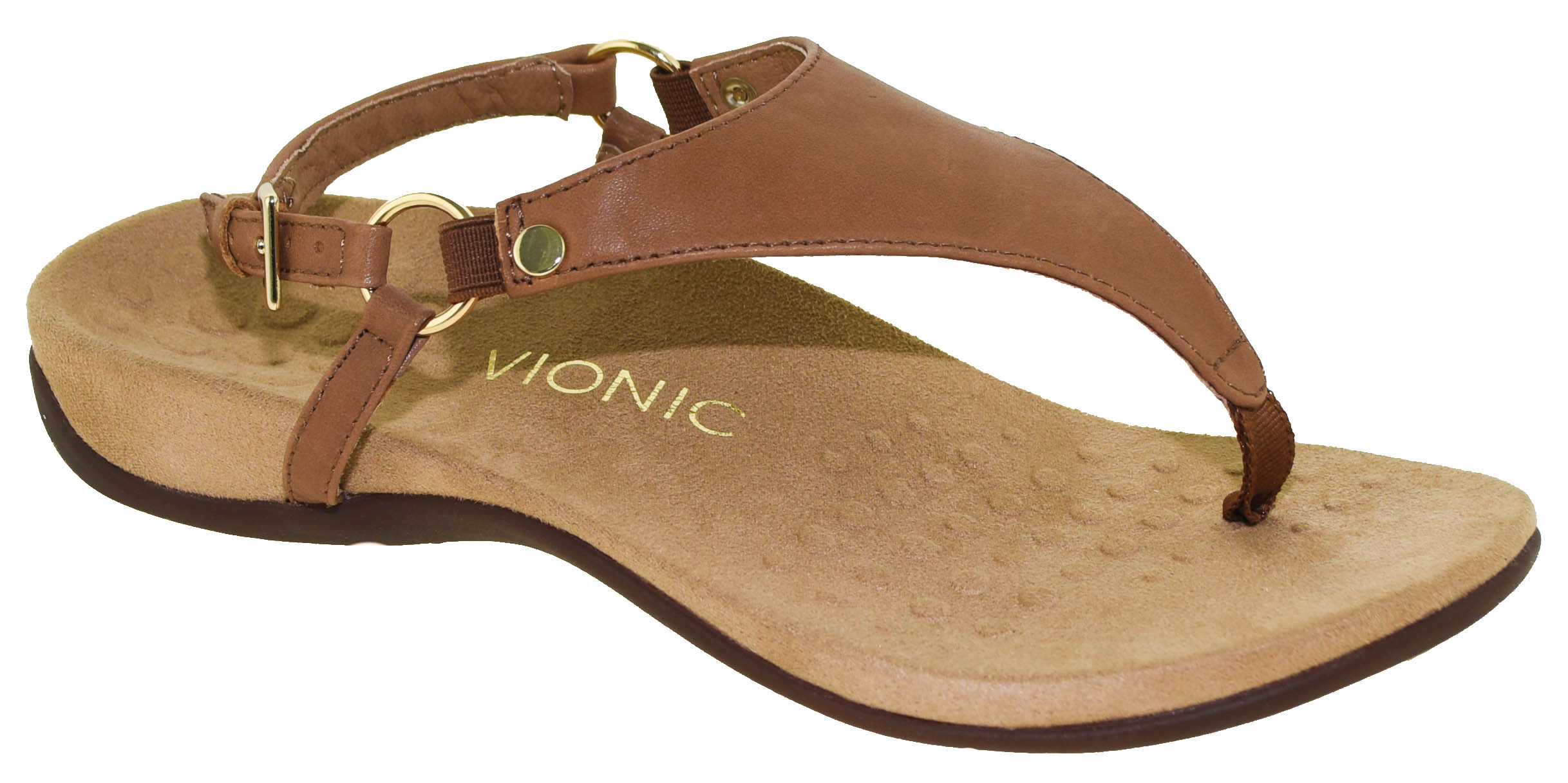 d2275425835 Vionic Women s Rest Kirra Backstrap Sandal Brown