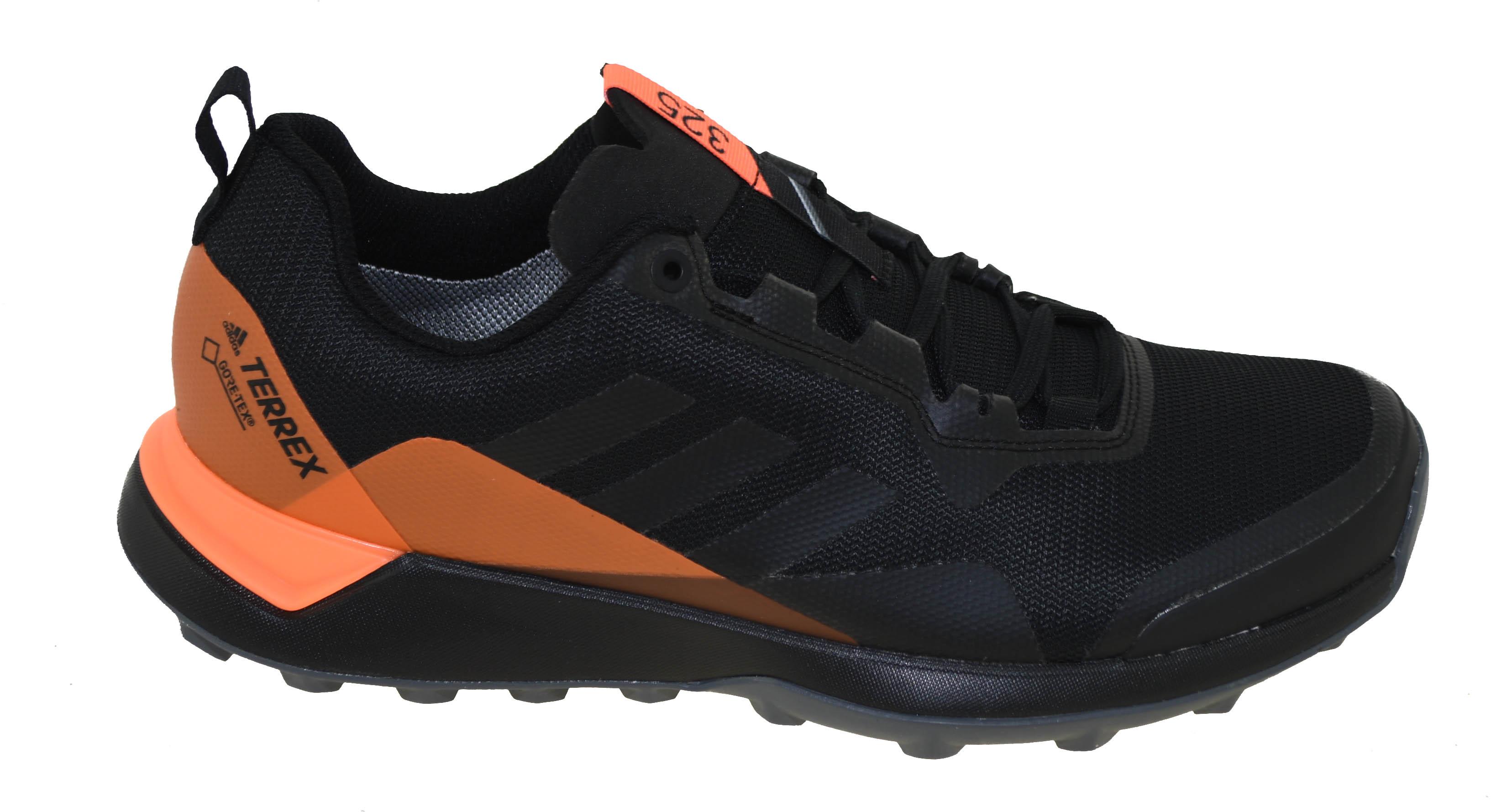 the latest 0ea5d 7cf66 Adidas Men s Terrex CMTK GTX Trail Running Shoe Black Grey Orange Style  AC7922