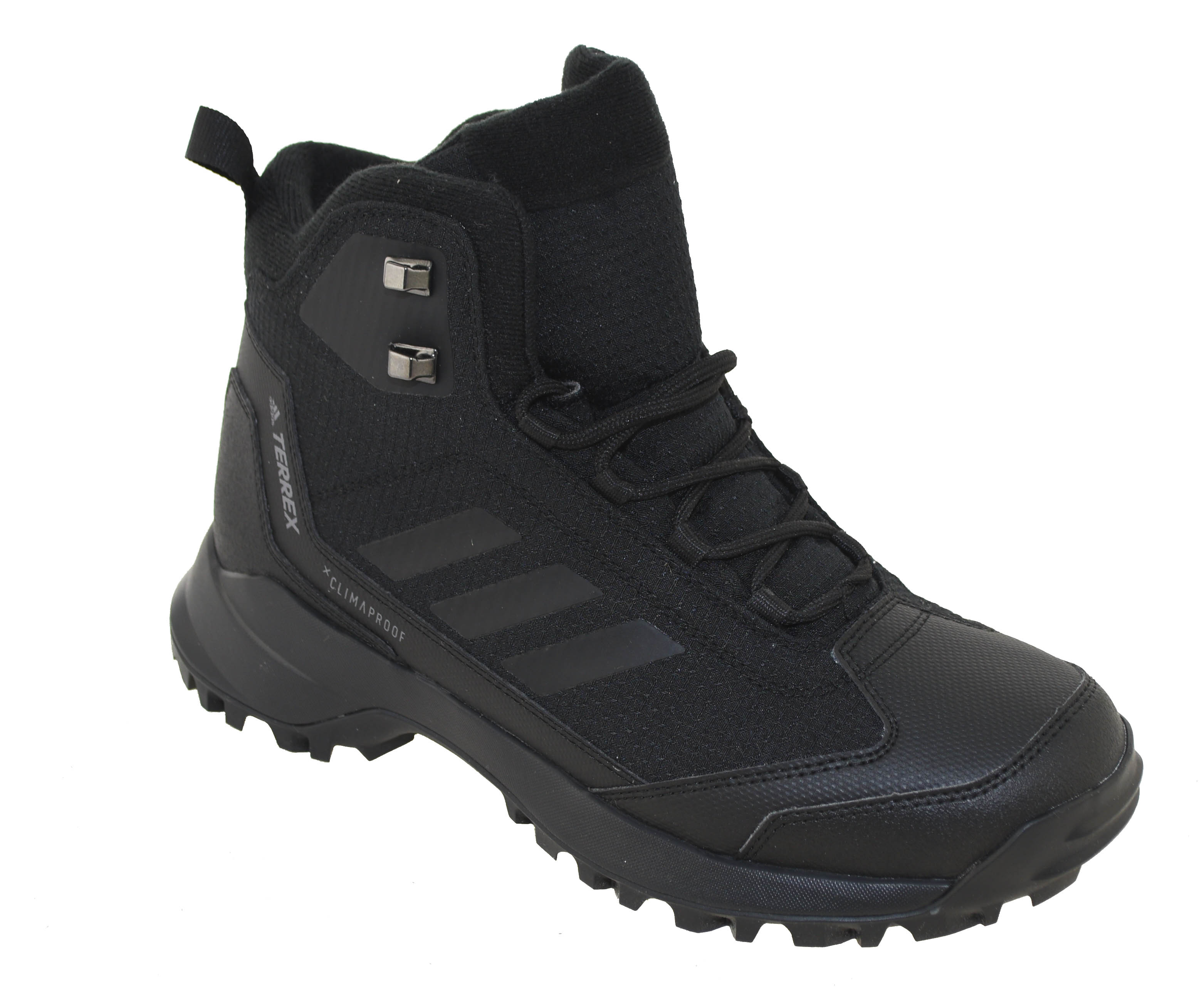 196c01788cc Details about Adidas Men's Waterproof Insulated Heron Mid CP CW Boot Black  Style AC7841