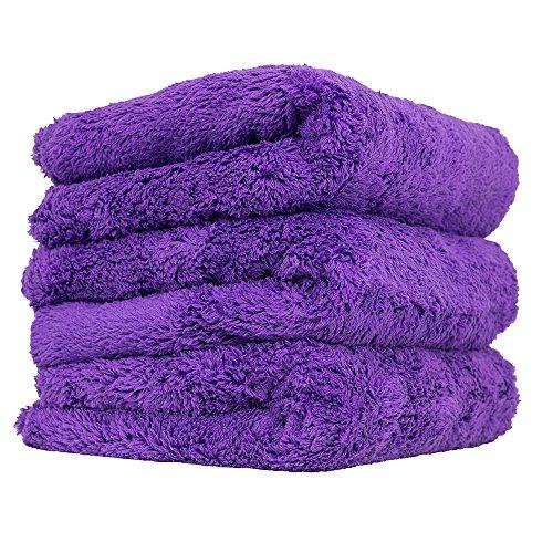 Microfiber Cloth Manufacturers Uk: Chemical Guys MIC35803 Edgeless Microfiber Towel (Purple
