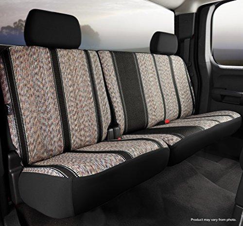 Black Saddle Blanket, Fia TR42-97 BLACK Custom Fit Rear Seat Cover Split Seat 60//40