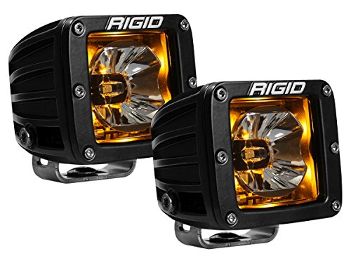 Pair Rigid Industries Radiance Pod Amber Backlight