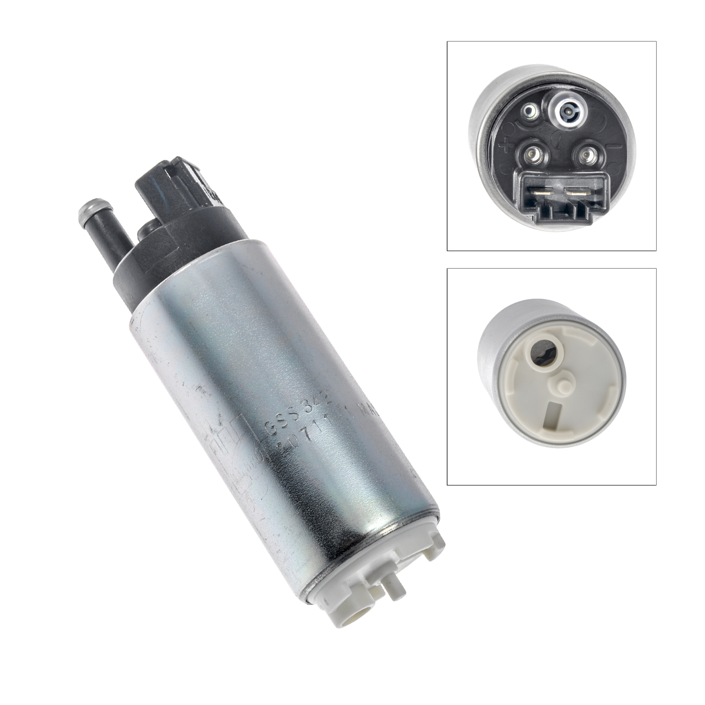 New Walbro GSS342 255Lph Fuel Pump & Install Kit For ...