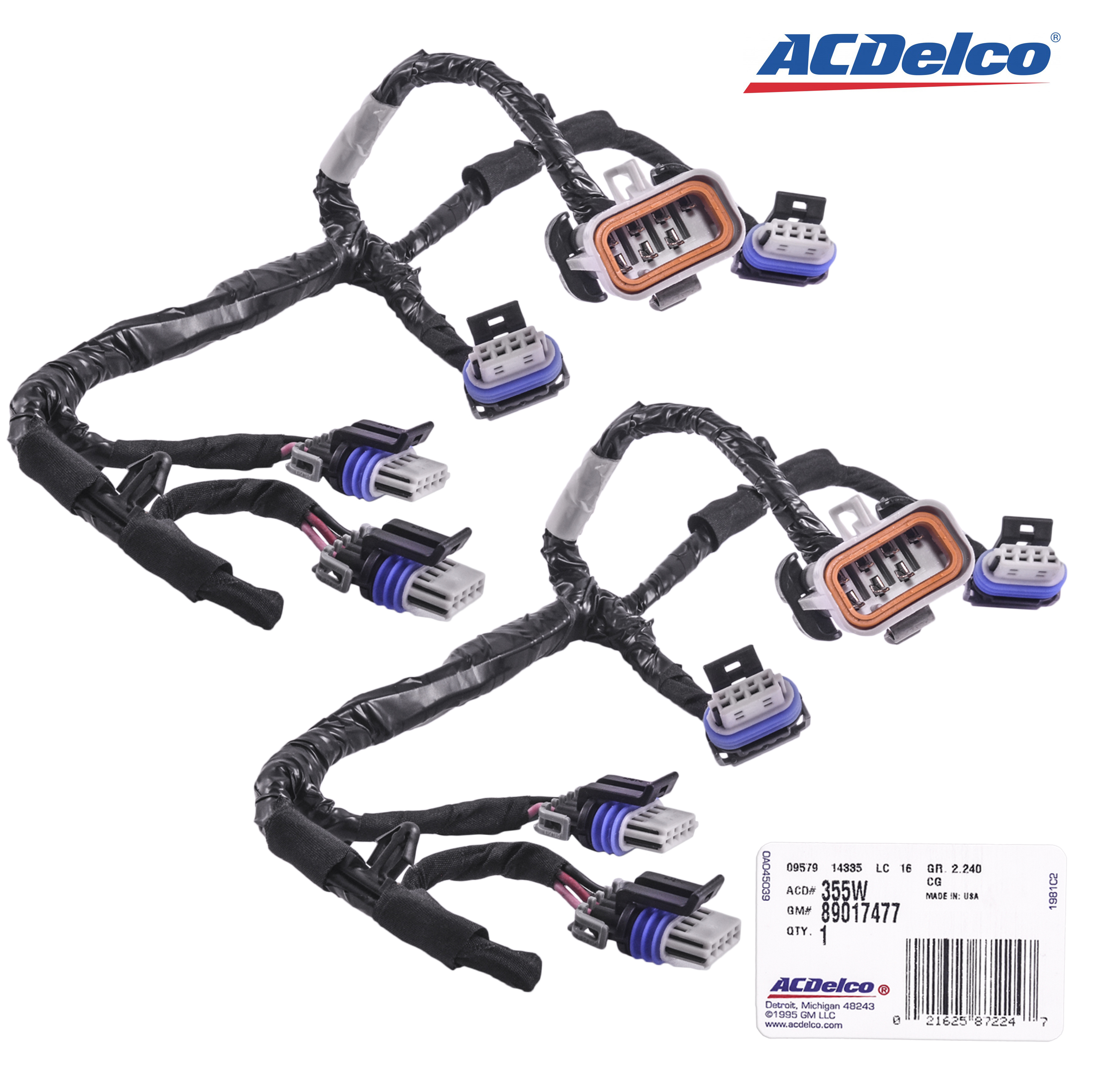 New Set Of  AcDelco Ignition Coil Lead W  Wiring - 1959 cadillac wiring harness