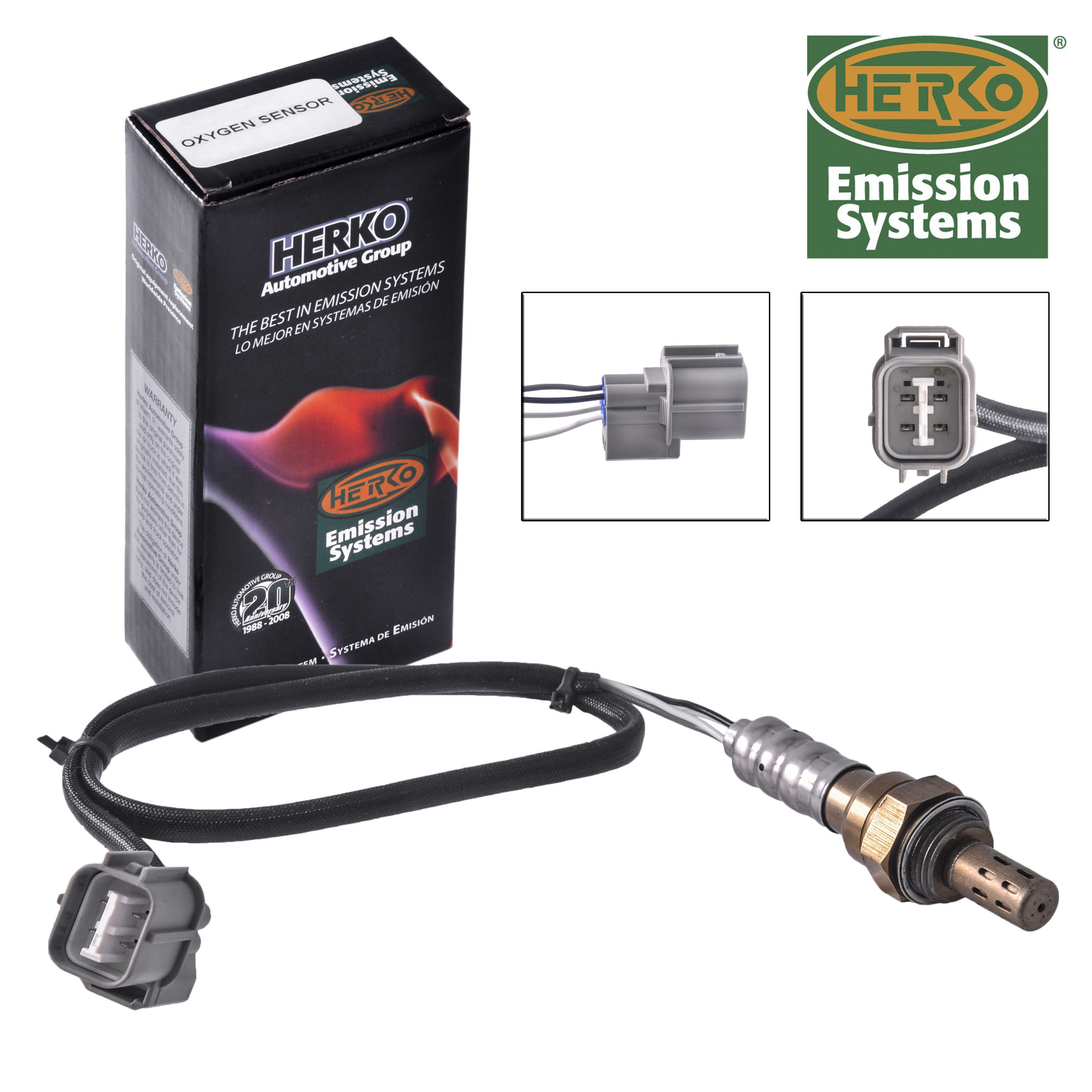 new herko oxygen sensor ox022 for acura 2003 2006 ebay. Black Bedroom Furniture Sets. Home Design Ideas