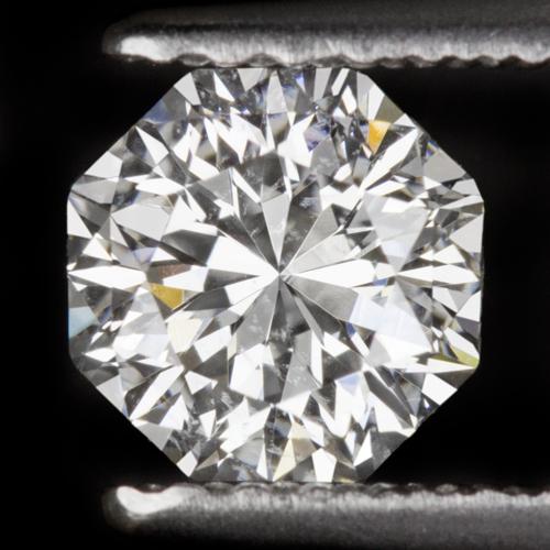 E Si1 Octagon Diamond 3 4 Carat Certified Natural Flanders