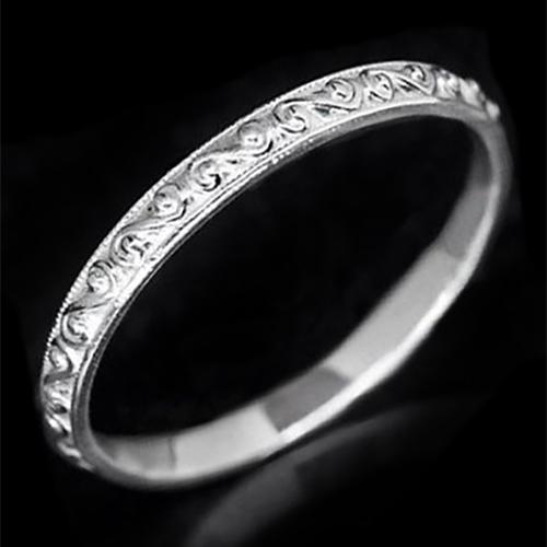 Filigree Wedding Band.Details About Vintage Filigree Wedding Band Antique Design Ring 14k