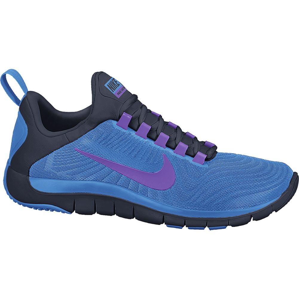 nike free trainer 5 0 v5 mens cross training shoes blue. Black Bedroom Furniture Sets. Home Design Ideas