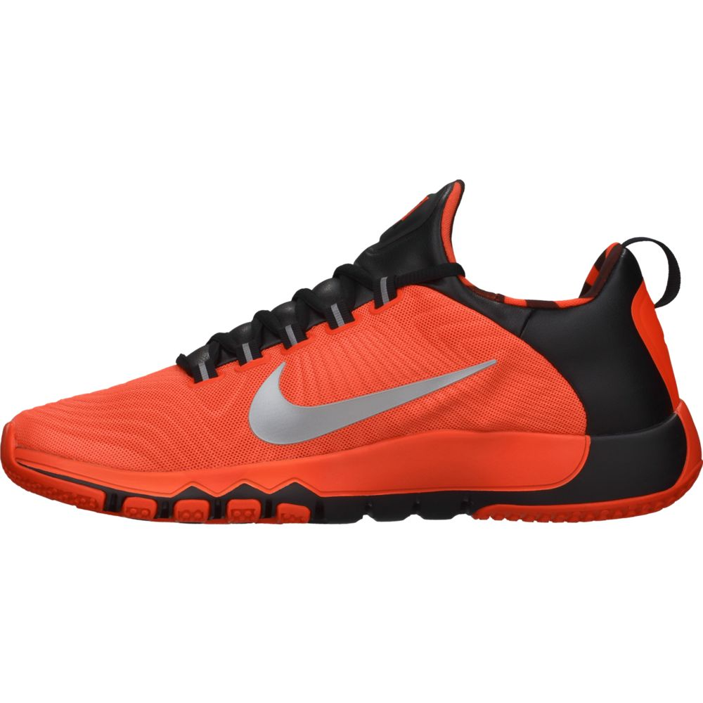 nike free trainer 5 0 amp mens cross training shoes orange new in box ebay. Black Bedroom Furniture Sets. Home Design Ideas