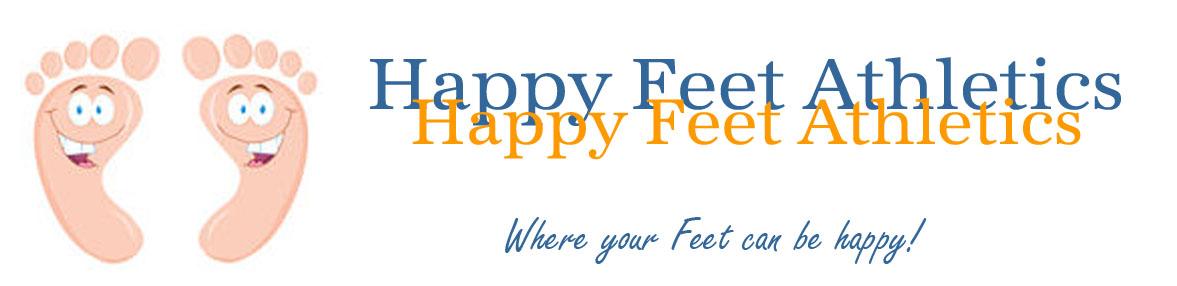 Happy Feet Athletics Logo