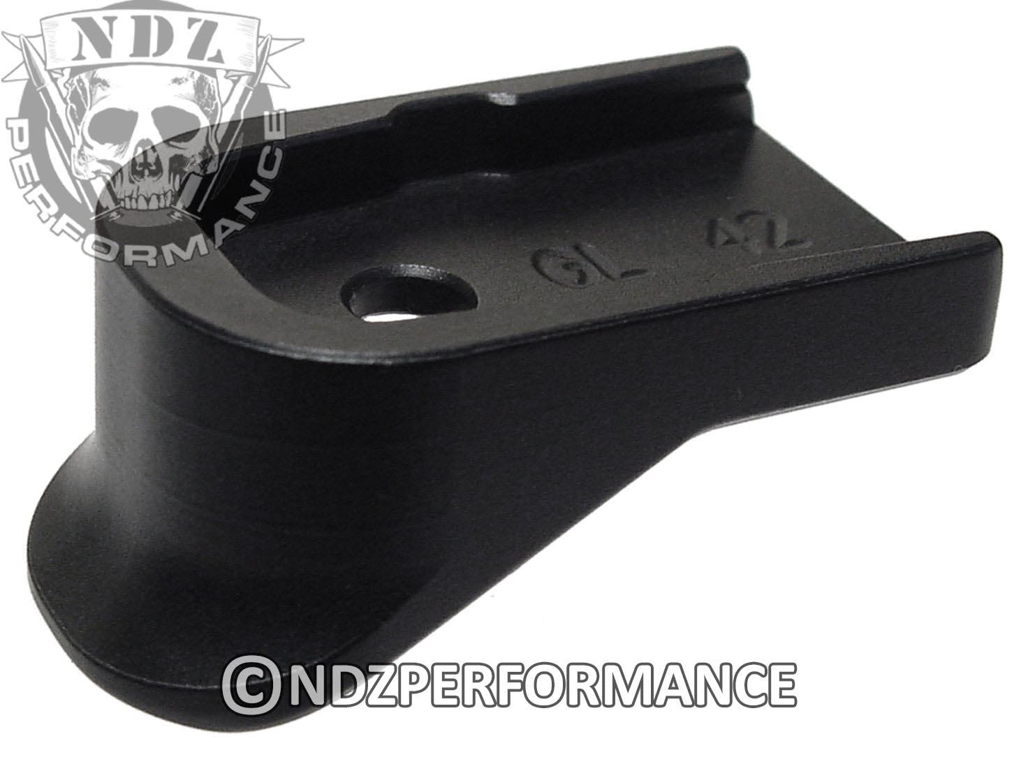 for glock 42 g42 floor base plate extended full grip plain ebay. Black Bedroom Furniture Sets. Home Design Ideas