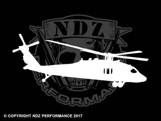 024 - Blackhawk Helicopter Silhouette