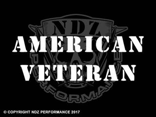 031 - American Veteran Text Stencil