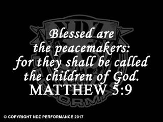 075 - Bible Matthew 5:9