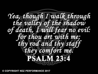 076 - Bible Psalm 23:4