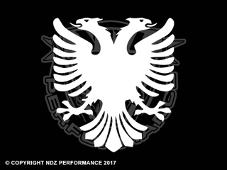 080 - Albanian Double Headed Eagle Crest