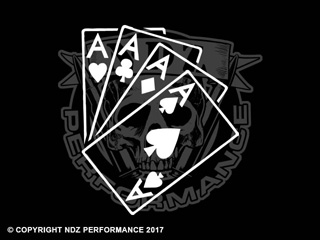 096 - Playing Cards 4 Aces