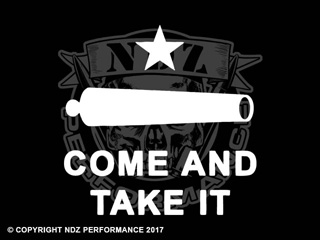 103 - Come and Take It Cannon Text 2 Line