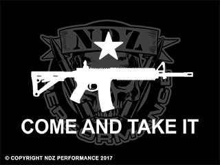 104 - Come and Take It AR-15 Rifle