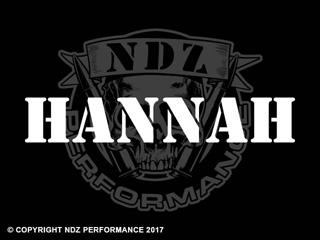 1058 - Names Hannah
