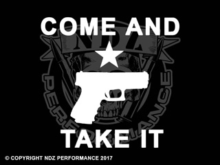 106  -  Come and Take It Handgun Pistol