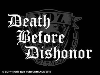 118 - Death Before Dishonor Staggered