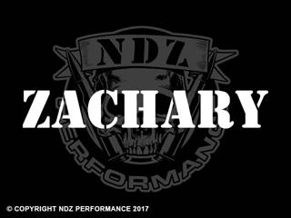 1184 - Names Zachary