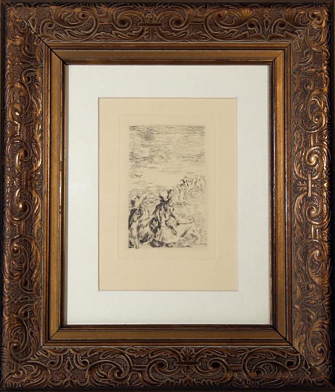 Renoir French Impressionist Fog On Guernsey ART