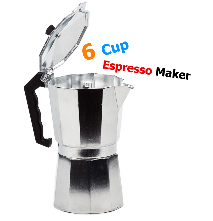 One Cup Stovetop Coffee Maker : 6 Cup Aluminum Espresso Maker - Stovetop Espresso Coffee Maker and Pot eBay