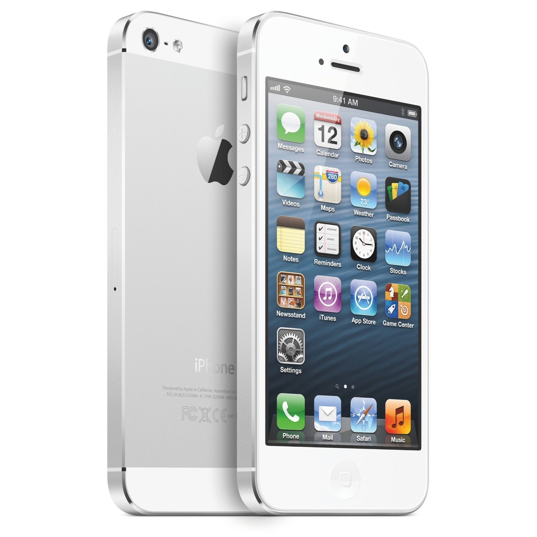 Apple iPhone 5S 64GB Unlocked - Silver (ME303LL/A) Cellphone ...
