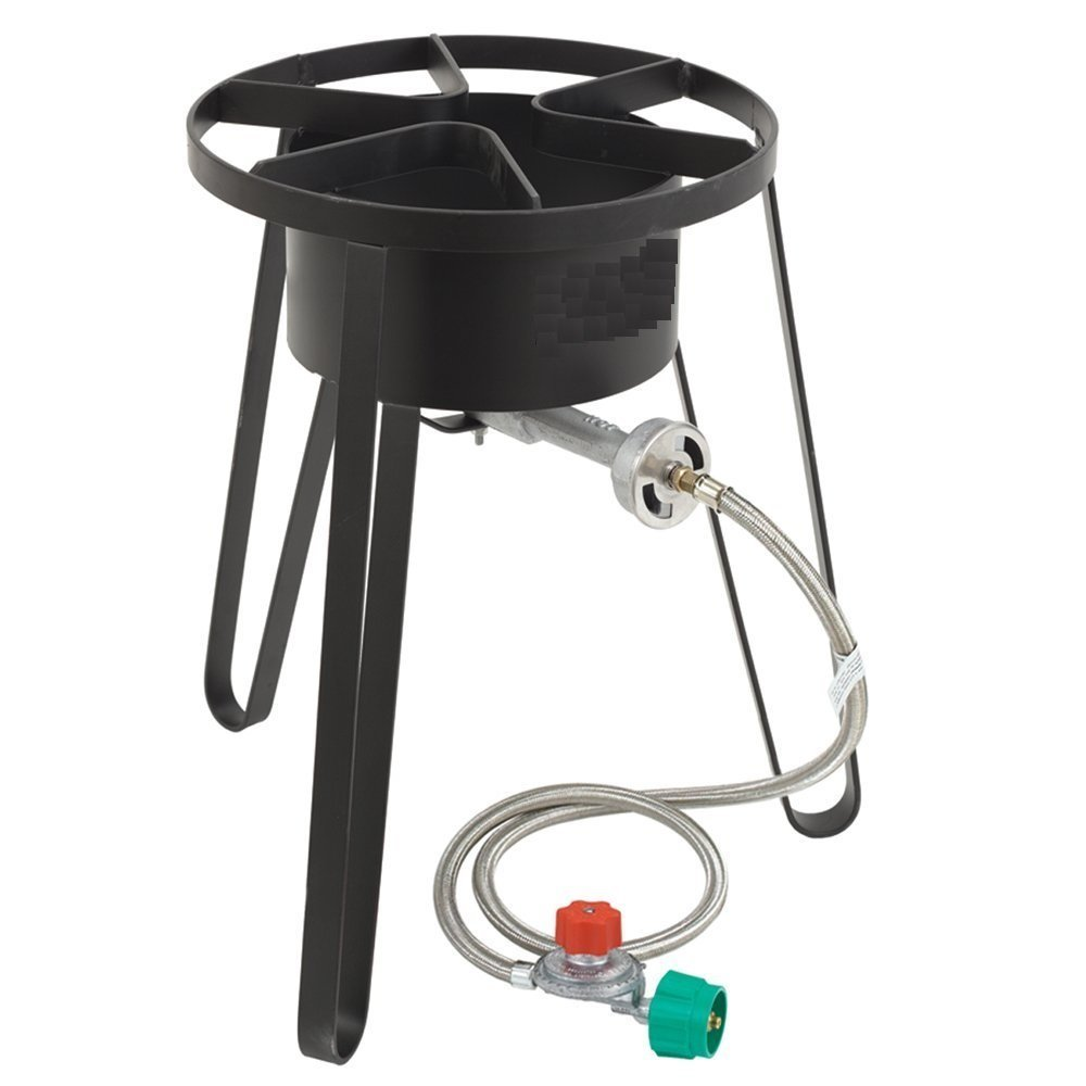 Heavy Duty Gas Burner w/ Stand - Portable Propane Camping Stove | eBay