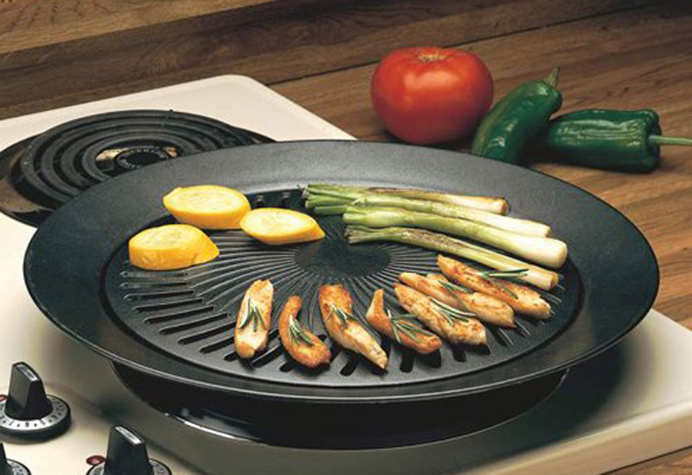 smokeless indoor stove top grill healthy kitchen