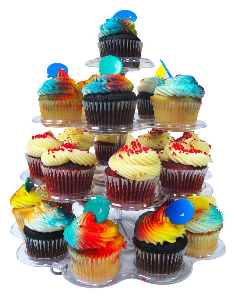 4 Tier Acrylic Dessert / Cupcake Stand