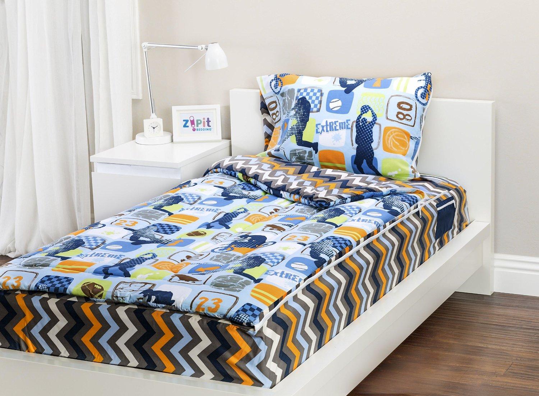 Zip It Bedding Twin Reversible Kids Bedding Or Kids