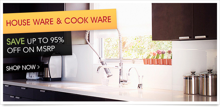 House Ware and Cook Ware Shop Now