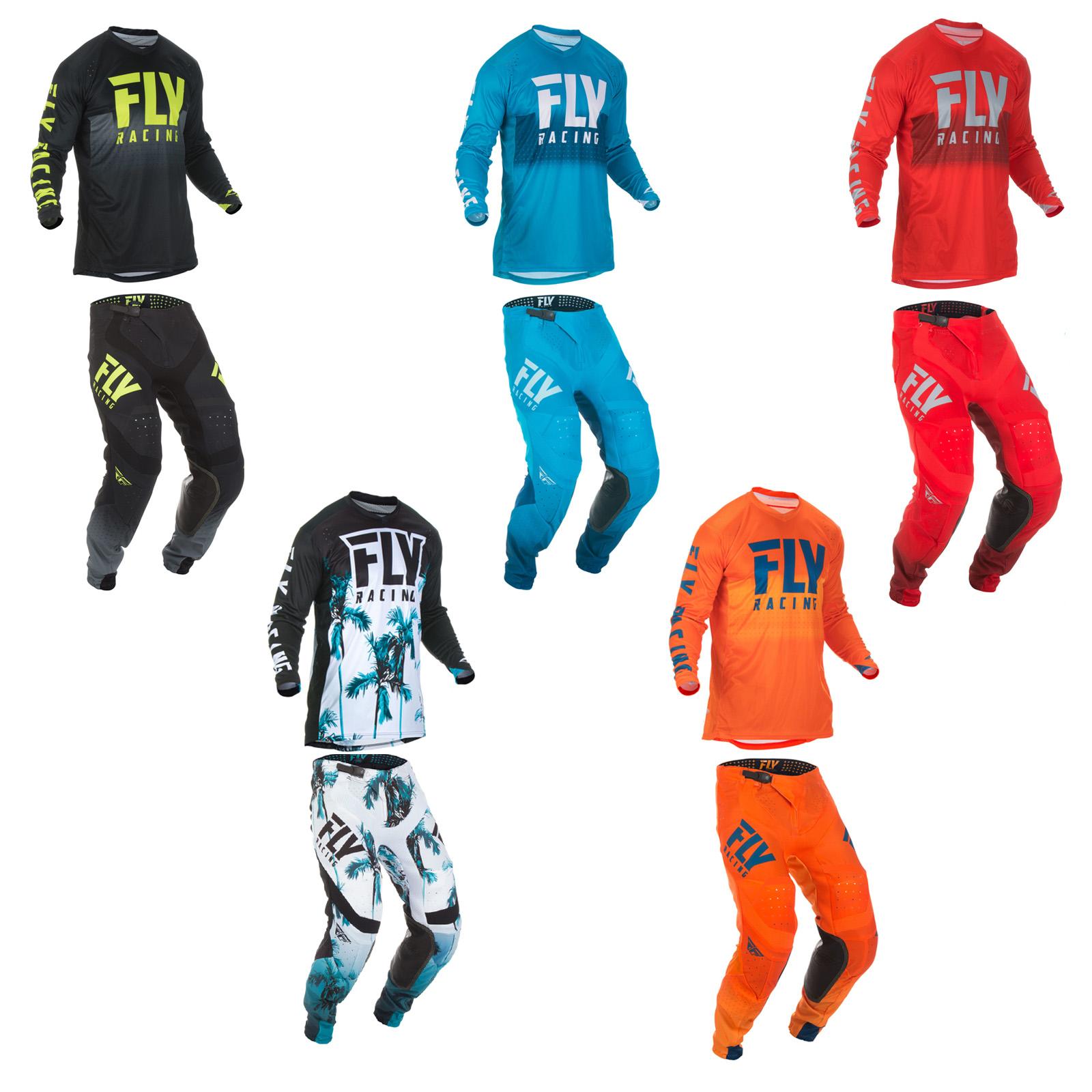 Fly Racing Lite Hydrogen Jersey Pants Combo ATV UTV Dirtbike Offroad MX Paradise