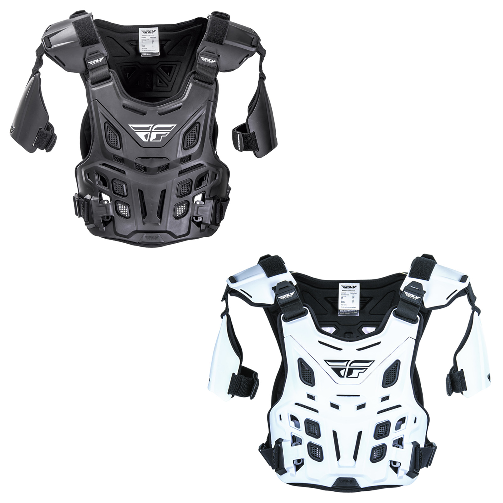 Fly Racing Youth Black CE Revel Roost Guard
