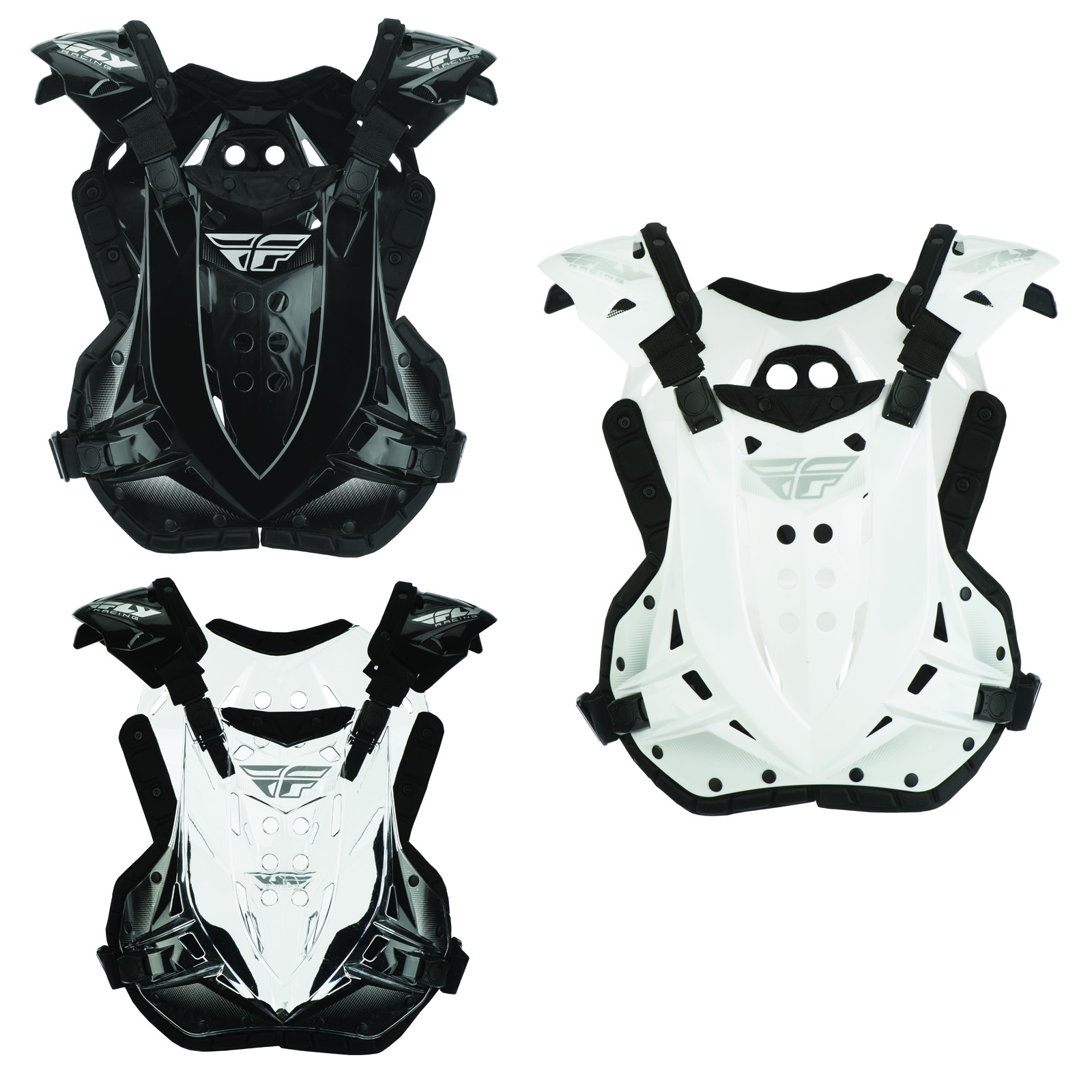Fly Racing Stingray Adult Chest Roost Guard Protector Deflector Motocross MX ATV