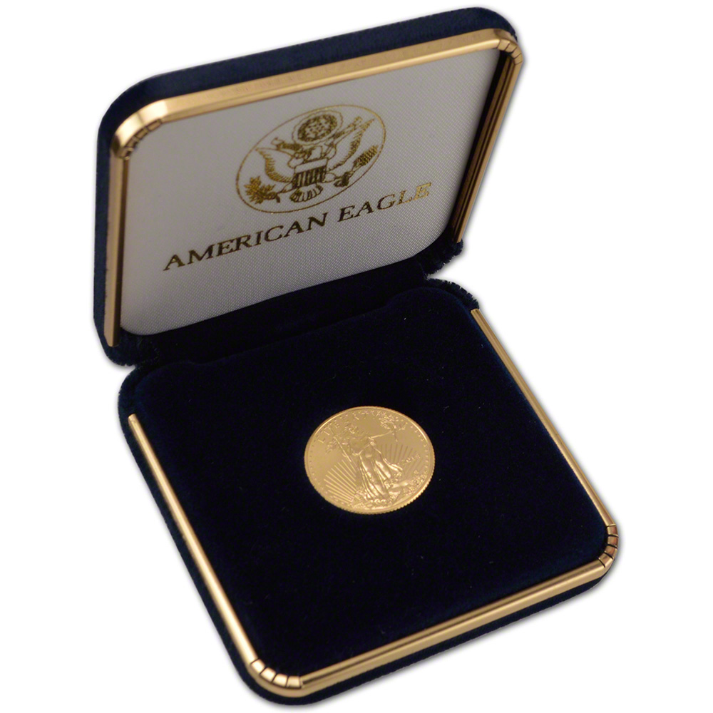 Gift Box Gold : American gold eagle oz bu coin in u s mint