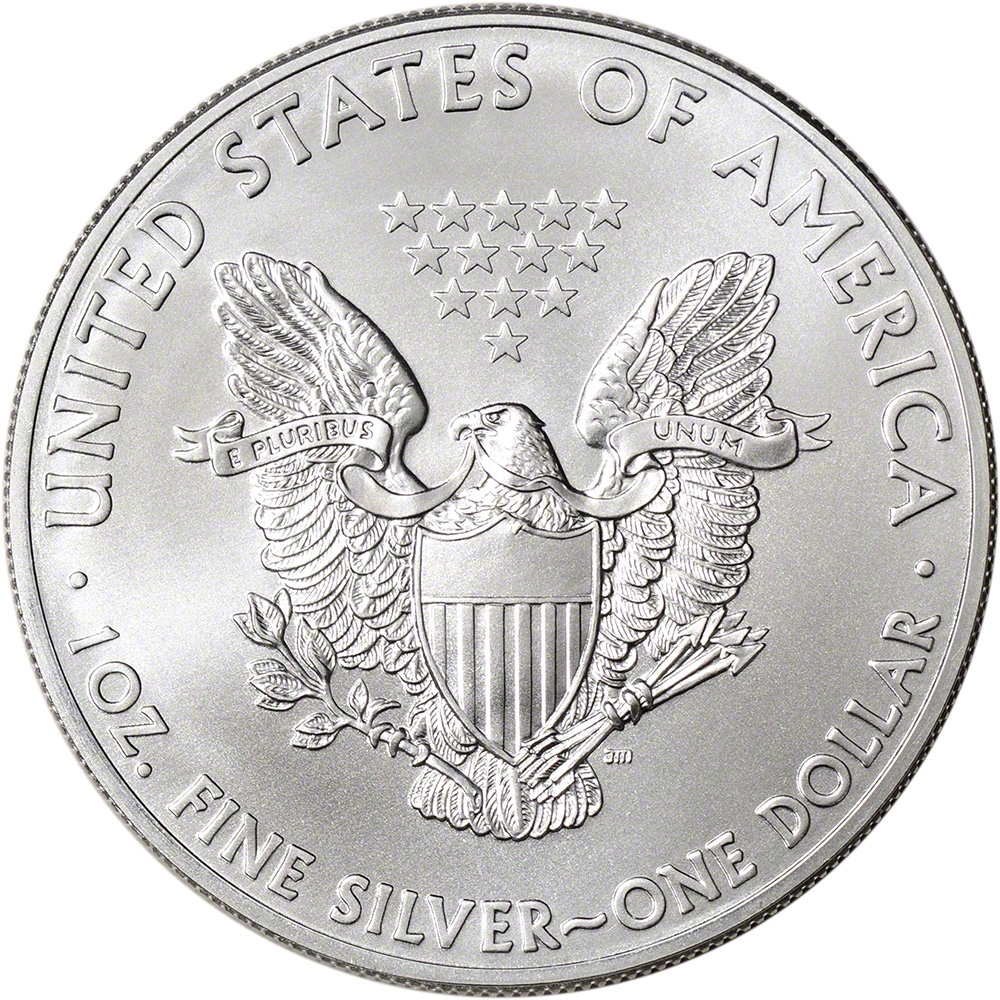 500 Oz Silvers: 2015 American Silver Eagle (1 Oz) $1