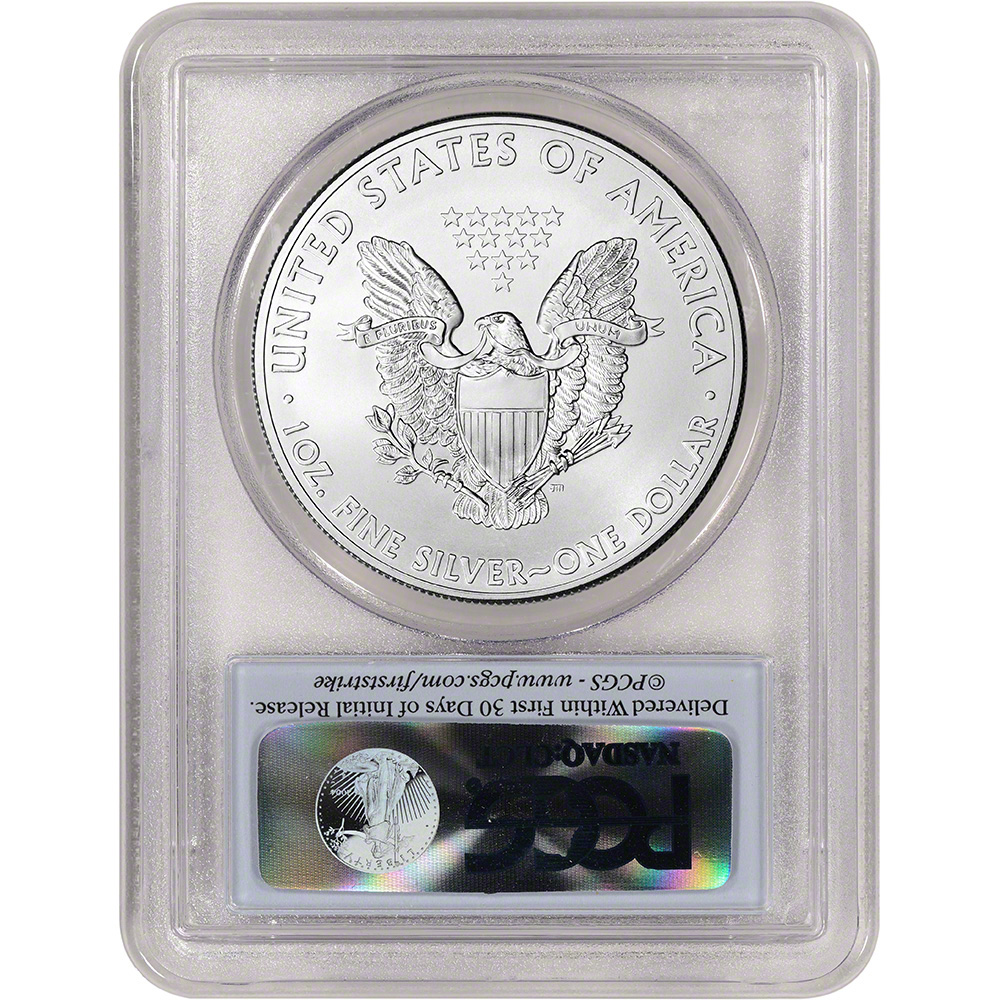 2015 American Silver Eagle PCGS MS69 First Strike First Day | eBay