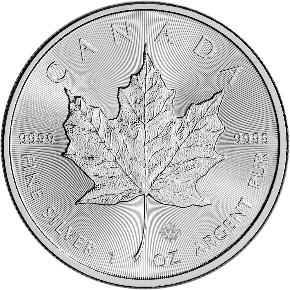 2016 Canada Silver Maple Leaf 1 Oz 5 Bu Ebay